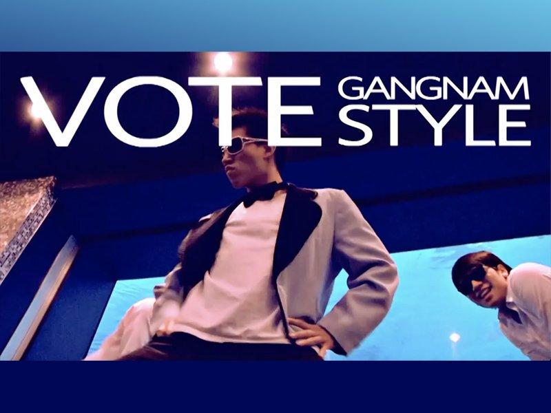 Voting Gangnam Style