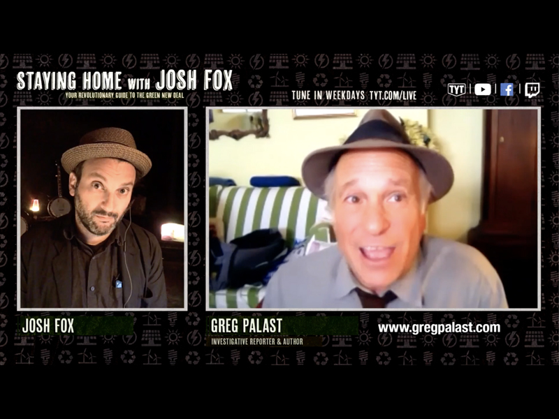 Greg Palast on Staying Home