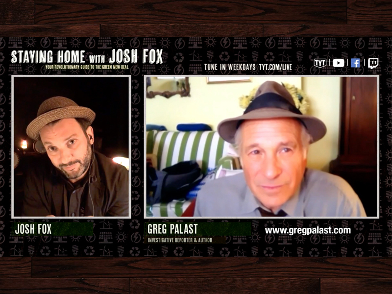 Greg Palast and Josh Fox