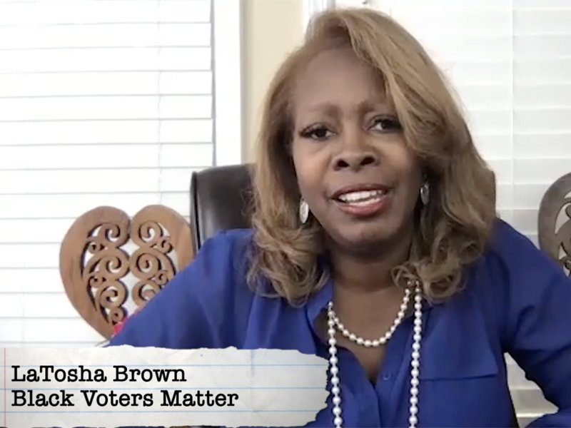 LaTosha Brown, Black Voters Matter