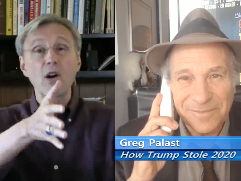 Greg Palast and Thom Hartmann
