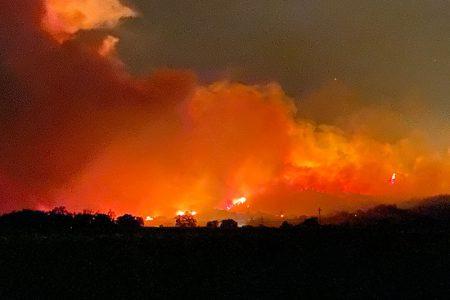 <center><em>Kincade Fire</em></center>